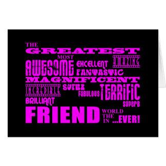 Regalos de la diversión para los amigos: El amigo  Tarjeta Pequeña