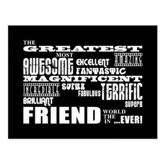 Regalos de la diversión para los amigos: El amigo  Tarjeta Postal