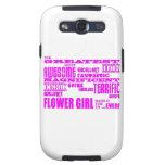 Regalos de la diversión para los floristas: El flo Galaxy S3 Cobertura