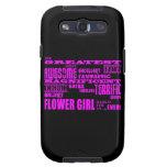 Regalos de la diversión para los floristas: El flo Galaxy S3 Protector