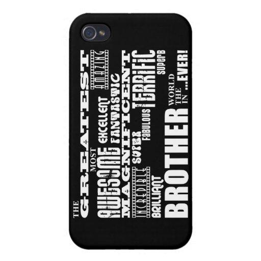 Regalos de la diversión para los hermanos: Brother iPhone 4 Funda
