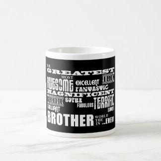 Regalos de la diversión para los hermanos: Brother Taza Básica Blanca
