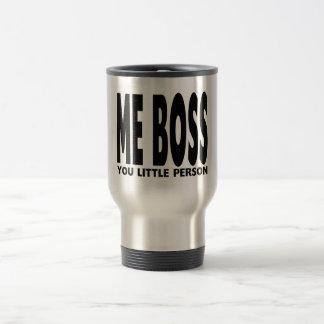 Regalos de la diversión para los jefes: Yo Boss Taza Térmica