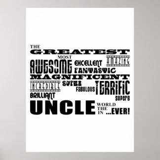 Regalos de la diversión para los tíos: El tío más  Impresiones
