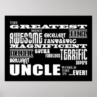 Regalos de la diversión para los tíos: El tío más  Posters