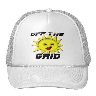 Regalos de la energía solar y camiseta promocional gorros bordados