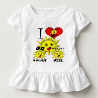 Regalos de la energía solar y camiseta promocional playeras
