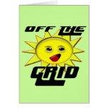 Regalos de la energía solar y camiseta promocional felicitaciones