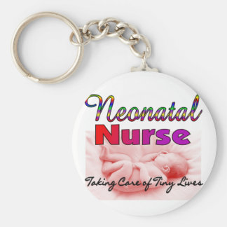 Regalos de la enfermera de Neonatal/NICU Llavero Redondo Tipo Pin