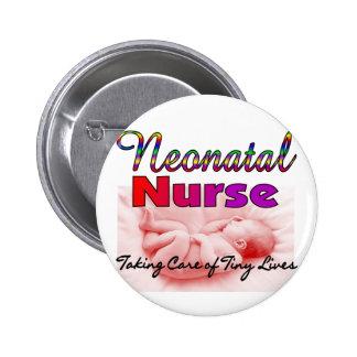 Regalos de la enfermera de Neonatal/NICU Pin Redondo 5 Cm