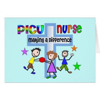 Regalos de la enfermera de PICU Tarjeta De Felicitación
