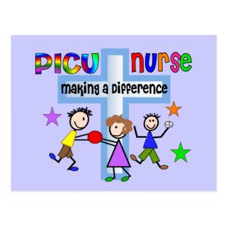 Regalos de la enfermera de PICU Tarjetas Postales
