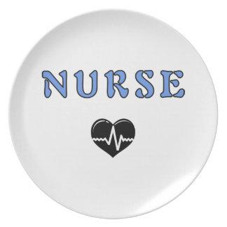 Regalos de la enfermera platos