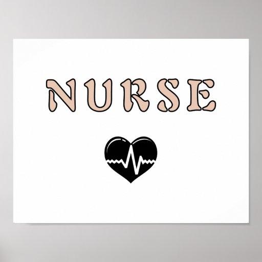 Regalos de la enfermera posters