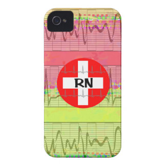 Regalos de la enfermera registradoa iPhone 4 protector