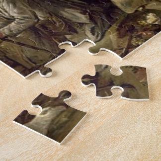 Regalos de la escena de la natividad para el navid puzzles con fotos