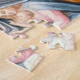 Regalos de la escena de la natividad para el navid puzzle con fotos