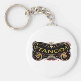 ¡Regalos de la exclusiva del tango! Llavero Redondo Tipo Pin