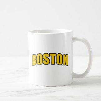 Regalos de la fan de hockey de Boston Taza De Café