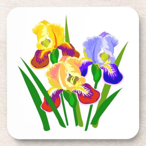 Regalos de la flor posavaso