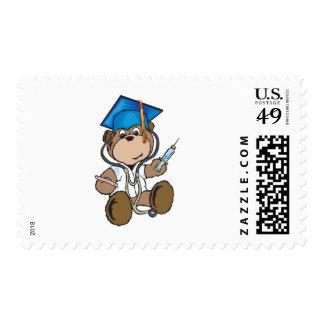 Regalos de la graduación de la enfermera y sellos postales