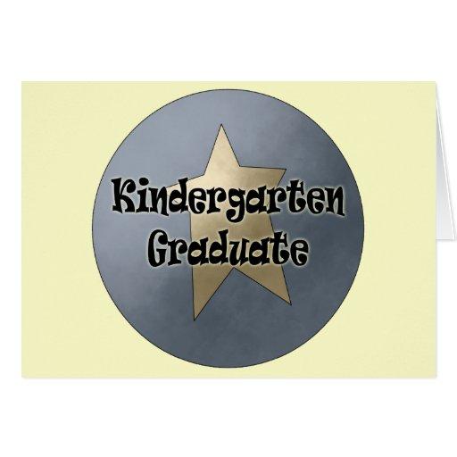 Regalos de la graduación de la guardería tarjeta de felicitación