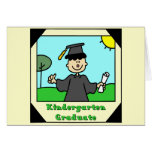 Regalos de la graduación de la guardería tarjeton