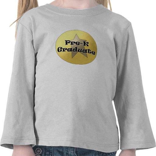 Regalos de la graduación de Pre-K Camiseta