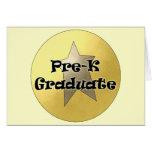 Regalos de la graduación de Pre-K Felicitaciones