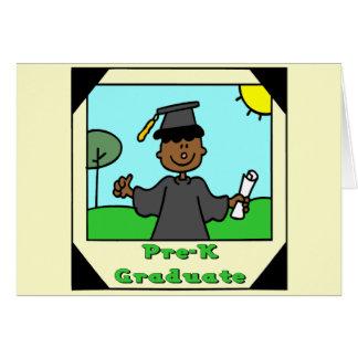 Regalos de la graduación de Pre-K Tarjetas