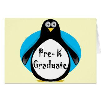 Regalos de la graduación de Pre-K Tarjetón