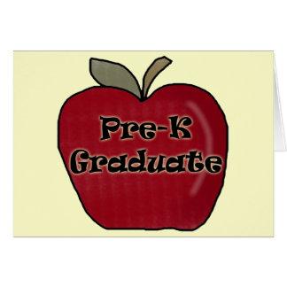 Regalos de la graduación de Pre-K Felicitacion