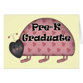 Regalos de la graduación de Pre-K Tarjeton