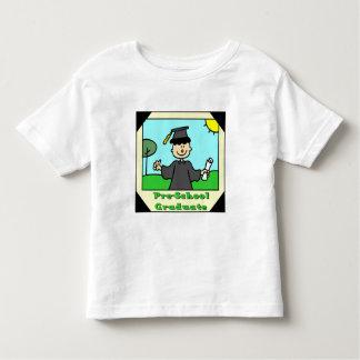 Regalos de la graduación del preescolar tee shirts