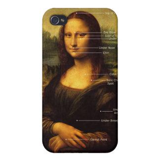 Regalos de la hipnosis del caso del iPhone de Mona iPhone 4 Carcasa