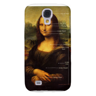 Regalos de la hipnosis del meridiano de Mona Lisa Carcasa Para Galaxy S4