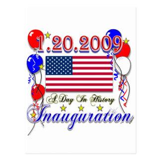 Regalos de la inauguración 2009 y ropa de la postales