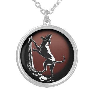 Regalos de la joyería del arte del perro de caza d