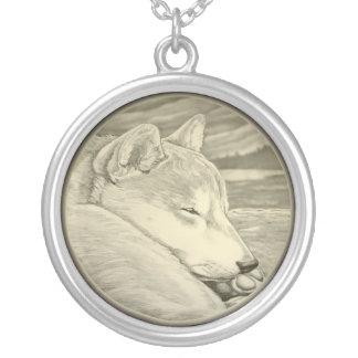 Regalos de la joyería del arte del perro de Shib I