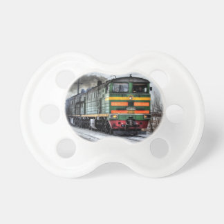 Regalos de la locomotora diesel para los amantes d chupetes para bebes
