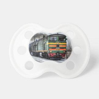 Regalos de la locomotora diesel para los amantes d chupetes de bebe