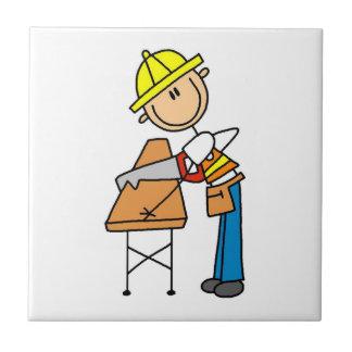 Regalos de la madera de construcción del Sawing Azulejo Cuadrado Pequeño