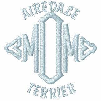 Regalos de la mamá de Airedale Terrier Sudadera Bordada Con Capucha De Mujer