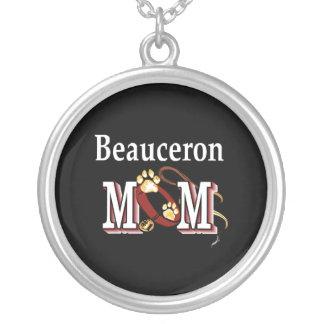 Regalos de la mamá de Beauceron Colgante Redondo
