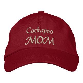 Regalos de la mamá de Cockapoo Gorra De Béisbol Bordada