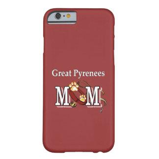 Regalos de la mamá de los grandes Pirineos Funda Para iPhone 6 Barely There