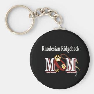 Regalos de la MAMÁ de Rhodesian Ridgeback Llavero Personalizado