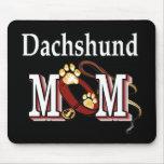 Regalos de la mamá del Dachshund Tapetes De Ratones