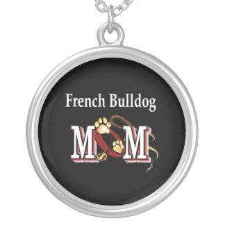 Regalos de la mamá del dogo francés colgante redondo
