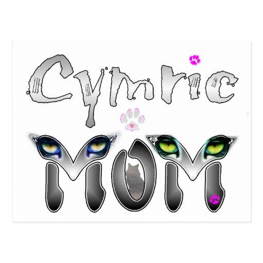 Regalos de la mamá del gato de Cymric Postal